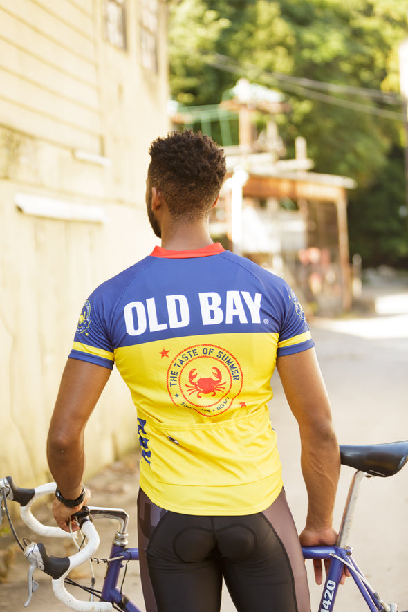 OLD BAY® Youth Club-Cut Cycling Jersey by Hill Killer