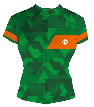 The Pathfinder Women's Club-Cut Cycling Jersey by Hill Killer