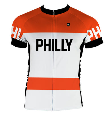 Philly Retro FLY Men's Club-Cut Cycling Jersey by Hill Killer