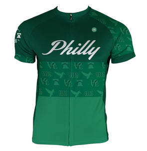 Philly 'Icon' Men's Club-Cut Cycling Jersey by Hill Killer