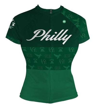 Philly Women's Club-Cut Cycling Jersey by Hill Killer