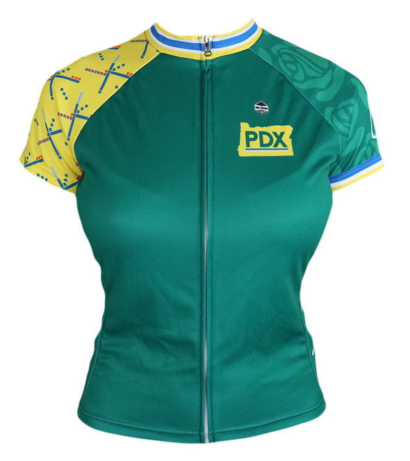 Portland Women's Club-Cut Cycling Jersey by Hill Killer