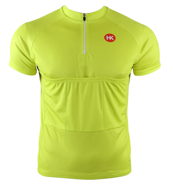 Recumbent Men's Club-Cut Cycling Jersey by Hill Killer