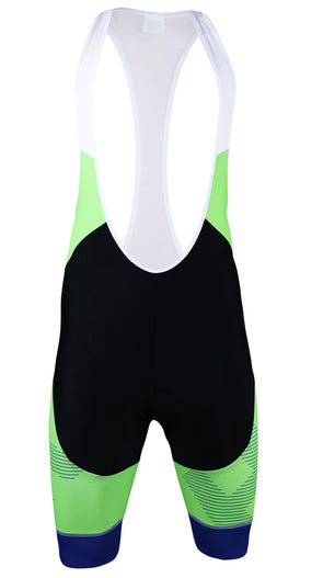 Lit Men's Reflex Tech Slim-Fit Pro Cycling Bibshorts by Hill Killer