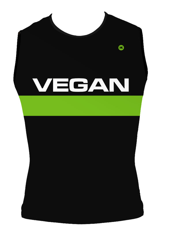 Retro Vegan Men's Triathlon Top by Hill Killer