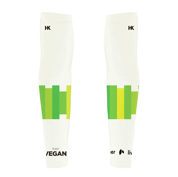 Team Vegan 17 Unisex Arm Warmers by Hill Killer