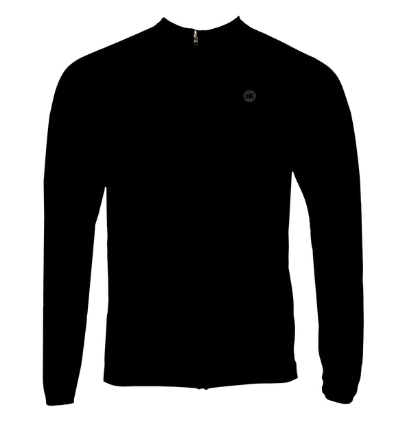 Dark Men's Thermal-Lined Cycling Jersey by Hill Killer