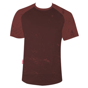 Rust Men's Mountain Bike Jersey by Hill Killer