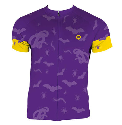 Scary Things Men's Club-Cut Cycling Jersey by Hill Killer