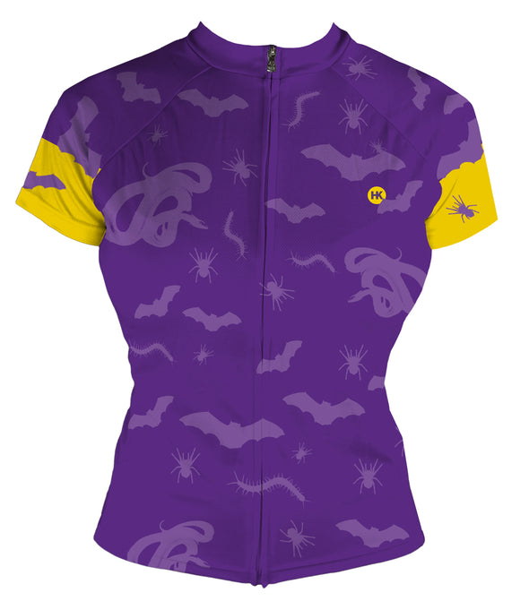 Scary Things Women's Club-Cut Cycling Jersey by Hill Killer
