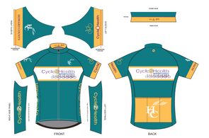 Men's Cycle to Health Jersey