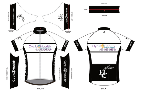 Women's Cycle to Health Jersey