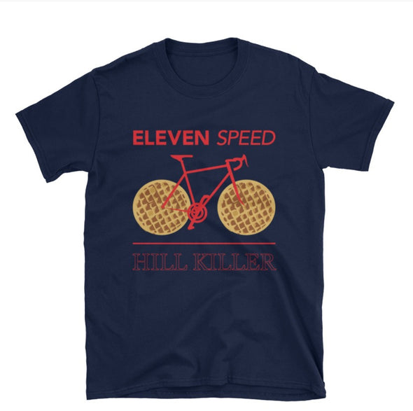 Eleven Speed(Stranger Things Inspired) Men's T-Shirt by Hill Killer