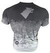 Direwolf Grey Men's Club-Cut Cycling Jersey by Hill Killer