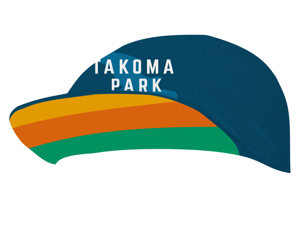 Takoma Park Cycling Cap Custom Takoma Park by Hill Killer
