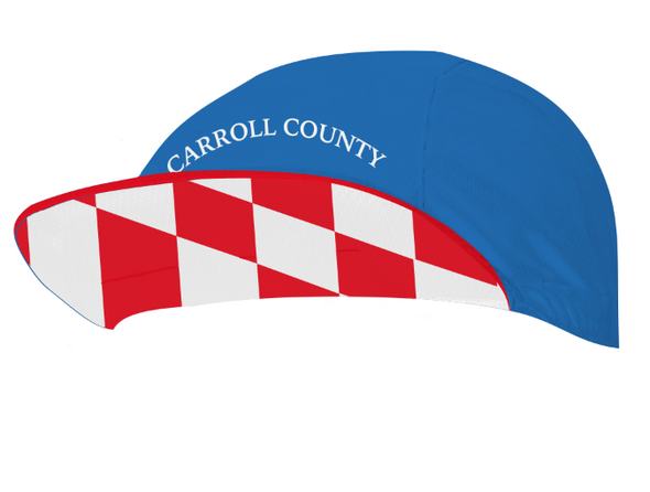 Carroll County Composite Cycling Cap Custom Hill Killer by Hill Killer