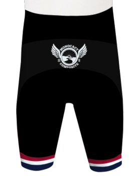 Monocacy Composite Cycling Shorts Custom Monocacy Composite by Hill Killer