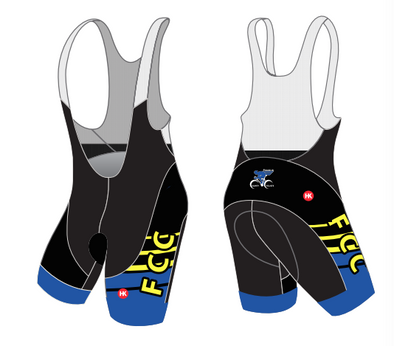 Franklin County Cyclists Custom Bibs/Shorts Custom Performance Cycling Bibs by Hill Killer