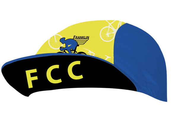 Franklin County Cyclists Cap Custom Cycling Cap by Hill Killer