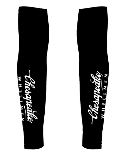 Chesapeake Wheelmen Arm Warmers Custom Chesapeake Wheelmen by Hill Killer