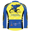 Franklin County Cyclists Longsleeve Jersey Custom Club-Cut Cycling Jersey by Hill Killer