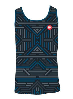 Structures Men's Running Singlet by Hill Killer