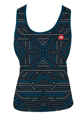 Structures Women's Running Singlet by Hill Killer