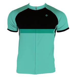 Surf Green Men's Slim Fit Race Cut Jersey by Hill Killer