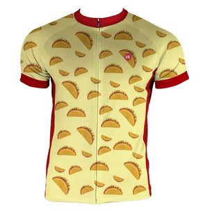 Team Taco Men's Club-Cut Cycling Jersey by Hill Killer