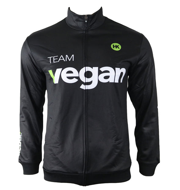 Team Vegan Unisex Track Jacket by Hill Killer