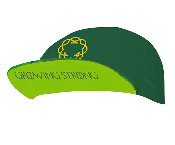 High Garden Green Unisex Cycling Cap by Hill Killer