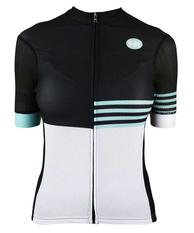 Ultra Cool Women's Slim-Fit Ultra-Cool Cycling Jersey by Hill Killer