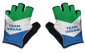 Vegan Flag Unisex Cycling Gloves by Hill Killer