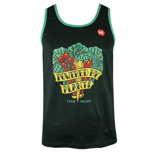 Vegan Harvest Men's Running Singlet by Hill Killer