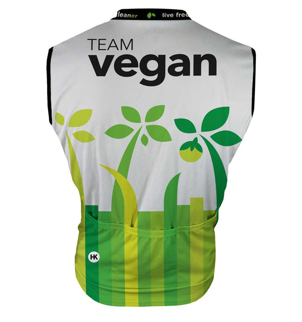 Team Vegan 17 Women's Club-Cut Cycling Jersey by Hill Killer