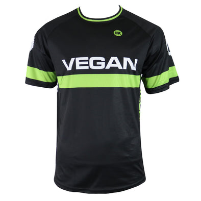 Retro Vegan Men's Mountain Bike Jersey by Hill Killer
