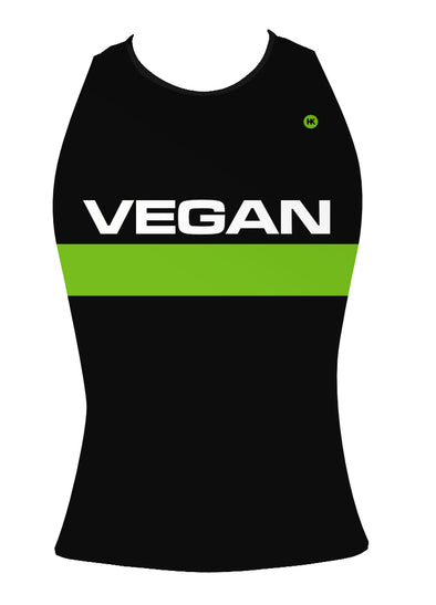 Retro Vegan Women's Triathlon Top by Hill Killer