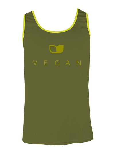 Vegan Seeds Men's Running Singlet by Hill Killer