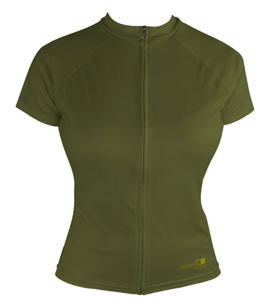 Vegan Seeds Women's Club-Cut Cycling Jersey by Hill Killer