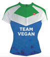 Vegan Flag Women's Club-Cut Cycling Jersey by Hill Killer