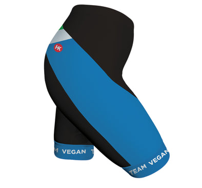 Vegan Flag Women's Performance Cycling Shorts by Hill Killer