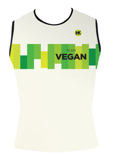 Team Vegan 17 Women's Triathlon Top by Hill Killer
