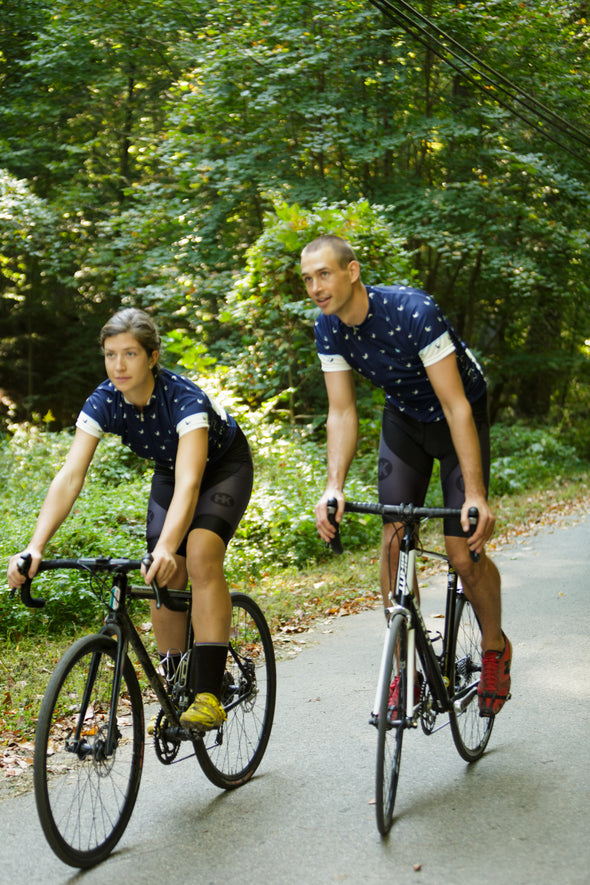 The Voyager Women's Club-Cut Cycling Jersey by Hill Killer