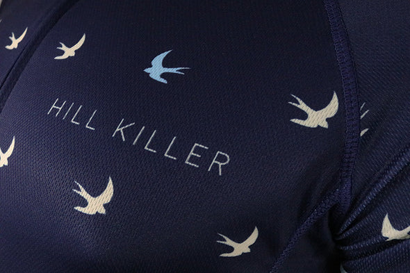 The Voyager Men's Club-Cut Cycling Jersey by Hill Killer