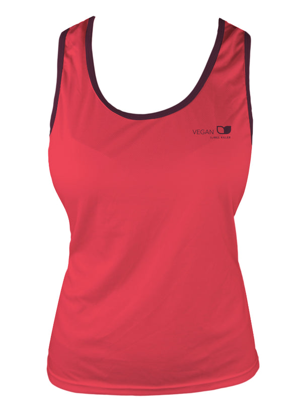 Vegan Seeds Women's Running Singlet by Hill Killer