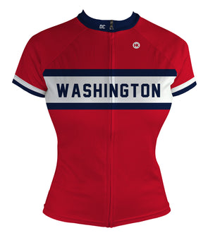 Washington Women's Club-Cut Cycling Jersey by Hill Killer