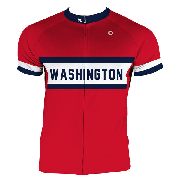 Washington Men's Club-Cut Cycling Jersey by Hill Killer