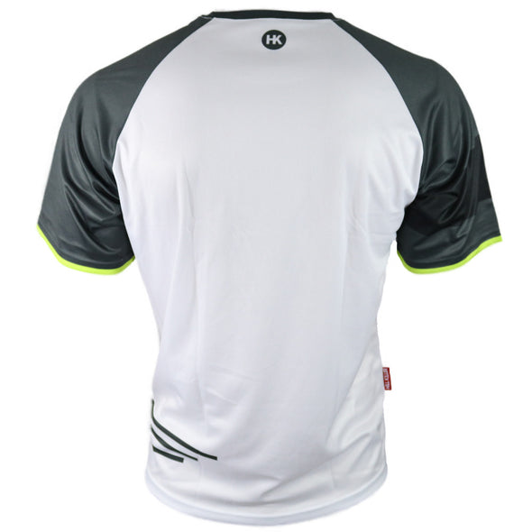 White Graphite Men's Mountain Bike Jersey by Hill Killer