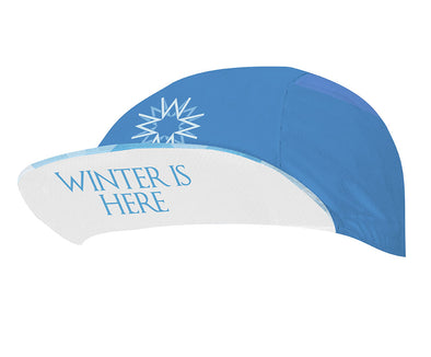 Walker White Unisex Cycling Cap by Hill Killer
