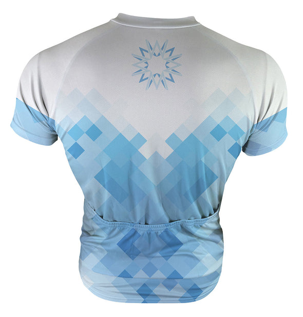 Walker White Men's Club-Cut Cycling Jersey by Hill Killer